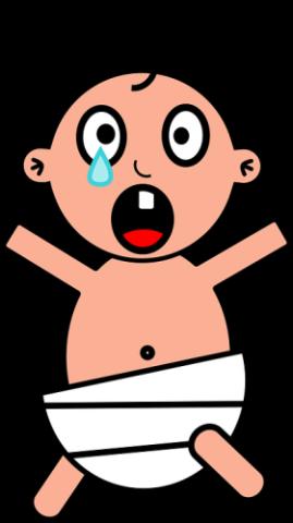 ledsen-baby